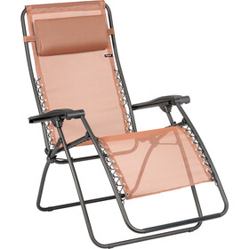 Lafuma Mobilier RSXA Relax Chair with Cannage Phifertex terracotta